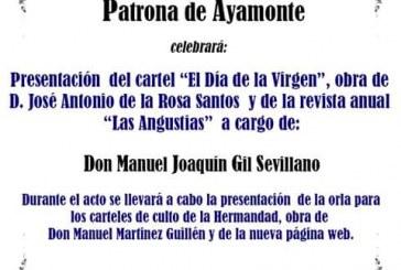 PRESENTACIÓN CARTEL Y REVISTA HERMANDAD DE LAS ANGUSTIAS
