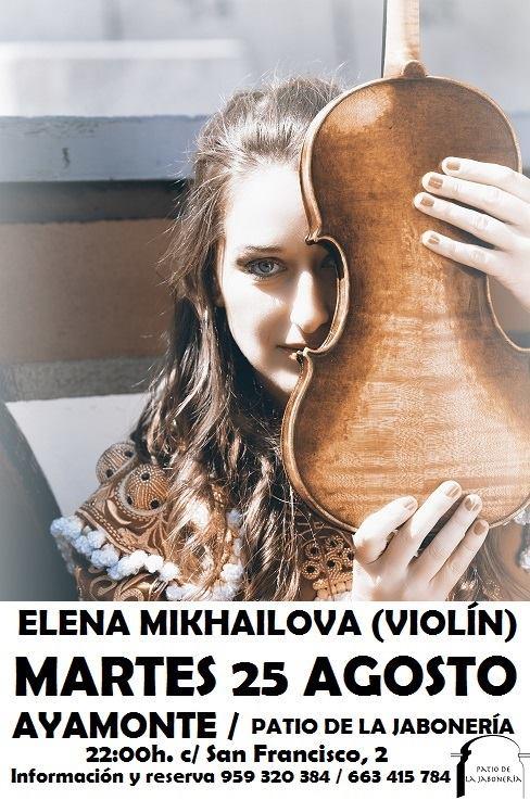 Recital de Elena Mikhailova en las Noches del Patio