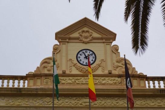 El Ayuntamiento de Ayamonte recupera el reloj del edificio consistorial