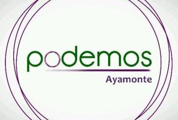 Podemos Ayamonte convoca un acto Por la Memoria Histórica