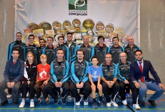 Cronica 1ª Jornada Liga Tenis de Mesa