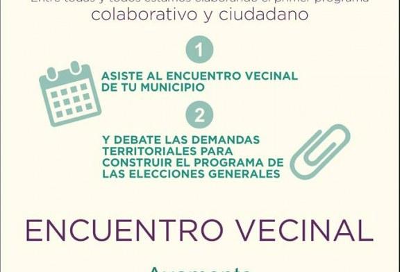 """Podemos:Asamblea Ciudadana en Ayamonte """" El programa de tod@s"""""""
