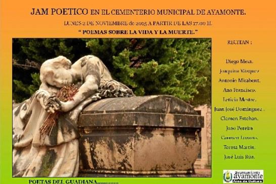 Recital de Poesía en el Cementerio de Ayamonte el próximo 2 de noviembre