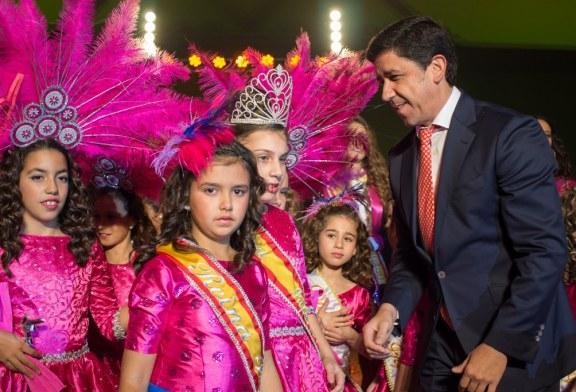 YOLANDA MARTÍN FELIPE, REINA INFANTIL DEL CARNAVAL DE AYAMONTE