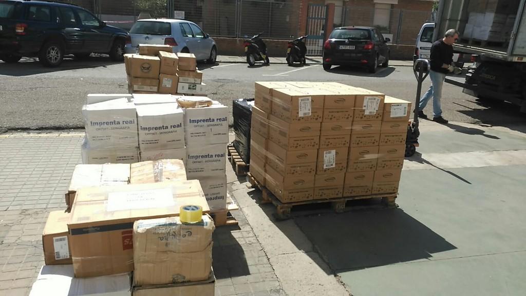 AYAMONTE ENTREGA 2500KG DE ALIMENTOS PARA LOS REFUGIADOS SAHARAUIS