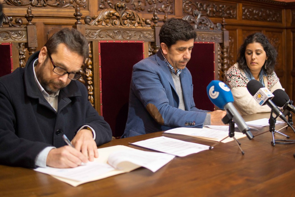 EL AYUNTAMIENTO DE AYAMONTE PRESTA SU APOYO A ASPREATO CON UN NUEVO CONVENIO DE COLABORACIÓN