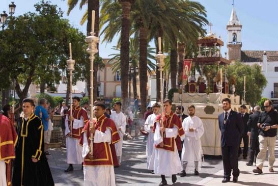 AYAMONTE CELEBRA LA FESTIVDAD  DEL CORPUS CHRISTI