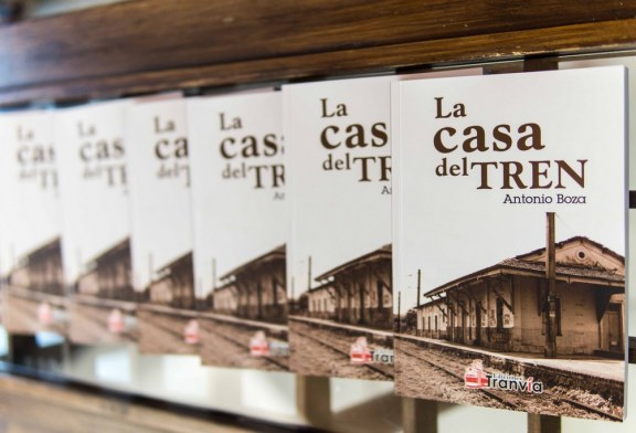 "GRAN ACOGIDA A LA OBRA ""LA CASA DEL TREN"", DEL  AYAMONTINO ANTONIO BOZA"