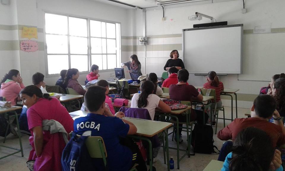 EL ÁREA DE SALUD DEL AYUNTAMIENTO DE AYAMONTE ORGANIZA UN TALLER DE EDUCACIÓN SEXUAL PARA ADOLESCENTES