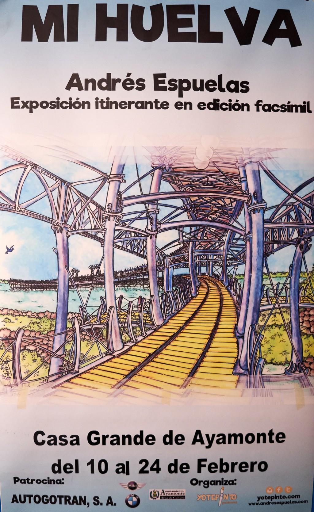 """LA EXPOSICIÓN """"MI HUELVA"""", EN LA CASA GRANDE DE AYAMONTE"""