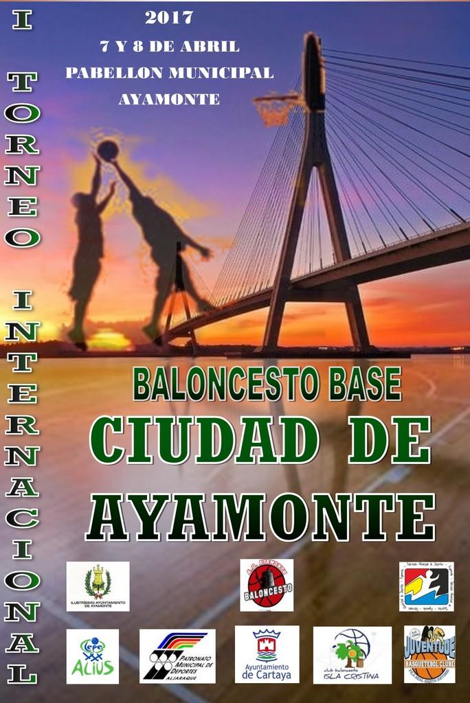 """AYAMONTE CELEBRARÁ EL I TORNEO INTERNACIONAL DE BALONCESTO BASE """"CIUDAD DE AYAMONTE"""""""