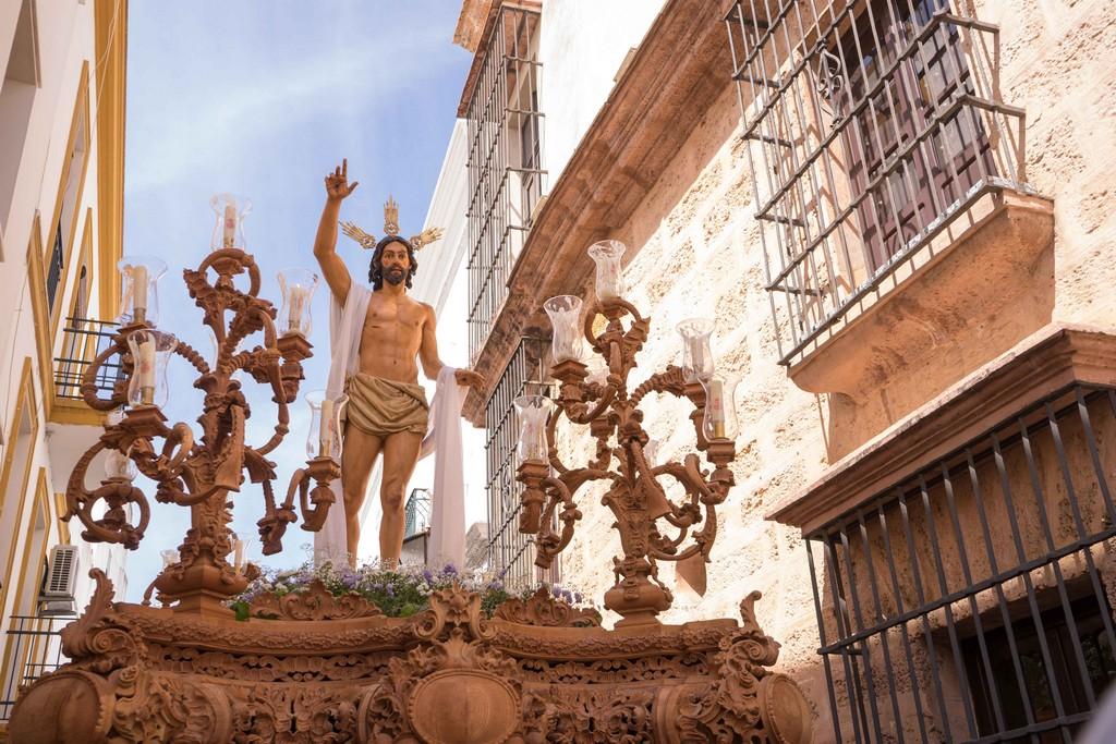 LA HERMANDAD DE LA RESURRECCIÓN PONE EL PUNTO FINAL A LA SEMANA SANTA AYAMONTINA