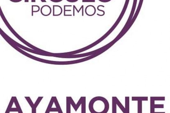 Nota de prensa de Podemos Ayamonte.