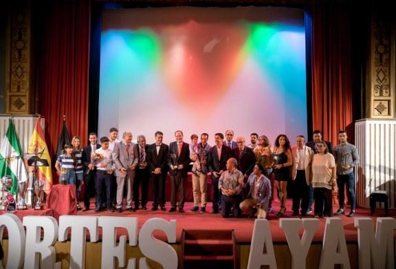 Ayamonte acogió la Gala de la Asociación Onubense de la Prensa Deportiva