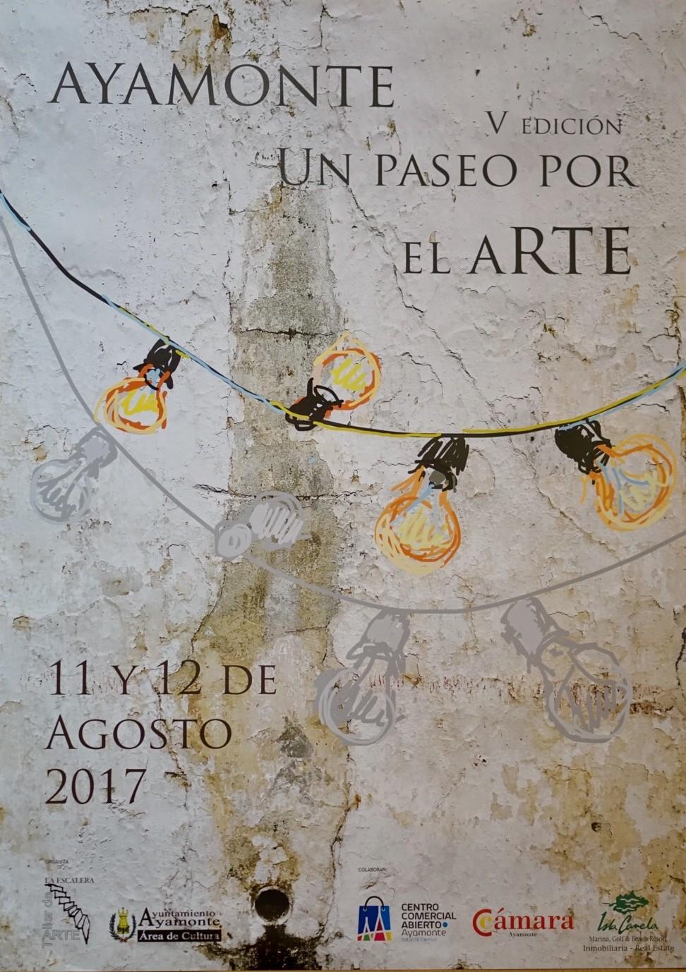 PRESENTADO EN AYAMONTE EL CARTEL ANUNCIADOR DEL V PASEO POR EL ARTE
