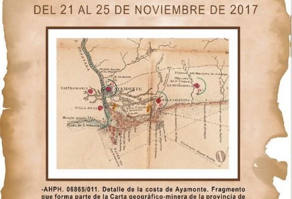 XXII JORNADAS DE HISTORIA DE AYAMONTE
