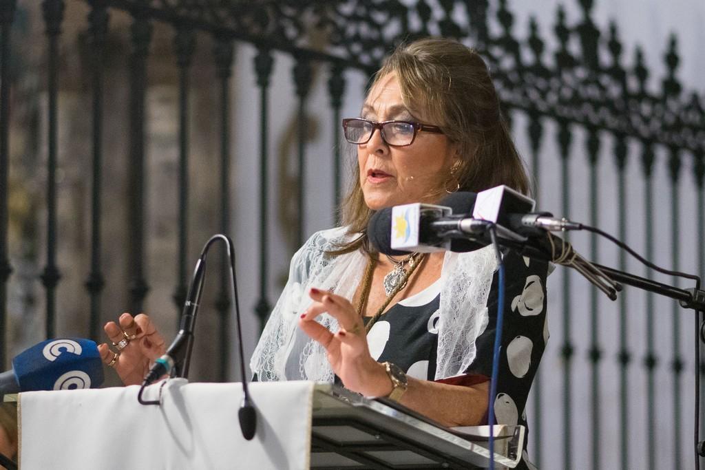 MATI MARTÍN PREGONÓ A LA HERMANDAD DEL ROCÍO DE AYAMONTE