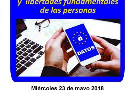 """Charla-coloquio  """"La Protección de los Derechos y Libertades Fundamentales de las Personas"""""""
