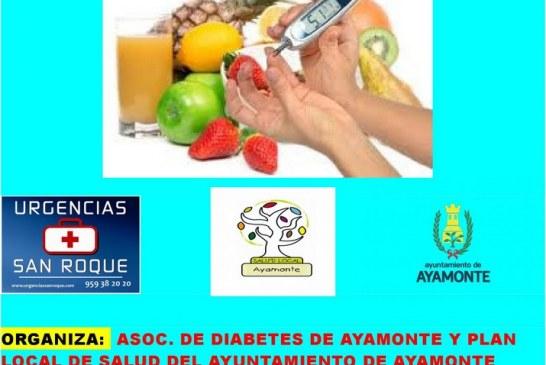 EL LUNES 21 DE MAYO, CHARLA SOBRE DIABETES EN AYAMONTE