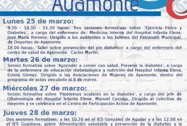 ARRANCA LA SEMANA DE LA DIABETES EN AYAMONTE