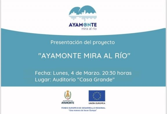 Presentado el Proyecto Ayamonte Mira al Río