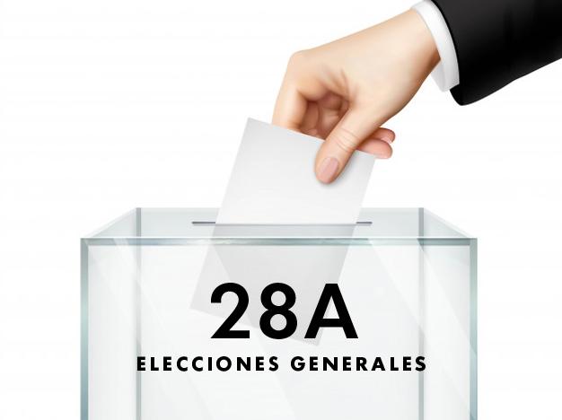 Resultados de las Elecciones Generales del 28A en Ayamonte