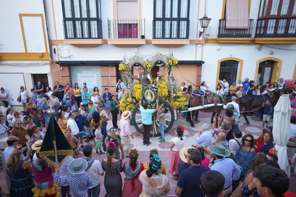 LA HERMANDAD DEL ROCIO DE AYAMONTE YA ESTÁ DE VUELTA