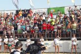 Paula Soria y Belén Carro y Timothée Platre y Nicolás Zanotta, ganadores del Madison Beach Volley Tour Isla Canela International Open 2019